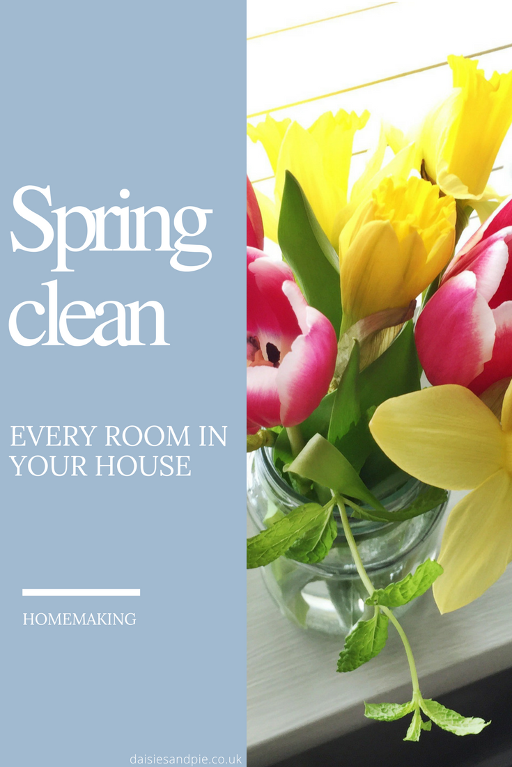 How to Spring Clean Every Room in the House