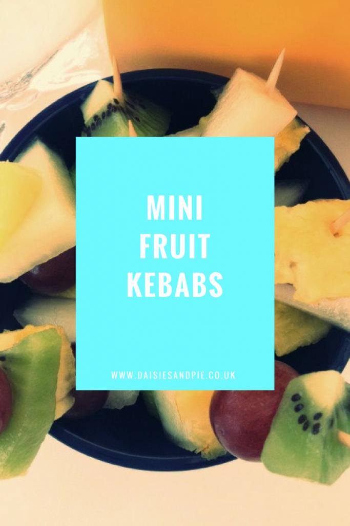 Mini fruit kebab recipe kids can make, kids fruit snacks, easy family food