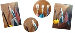 Command self adhesive hooks, kitchen organisation, kitchen storage
