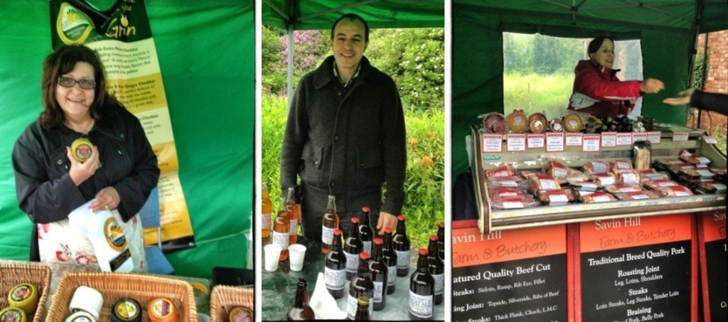 Cuerden Valley Park farmers market