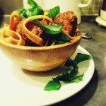 skinny meatball recipe, healthy italian meatball recipe, tagliatelle, low fat meatball recipe