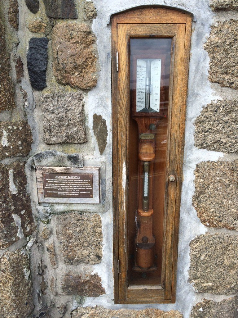 Fitzroy Barometer, Founder of the Meteorological Society, Storm Warnings, Mousehole Harbour Authority, Mousehole Cornwall, Places to go in Cornwall, Days out in Cornwall, Daisies & Pie, Daisies and Pie