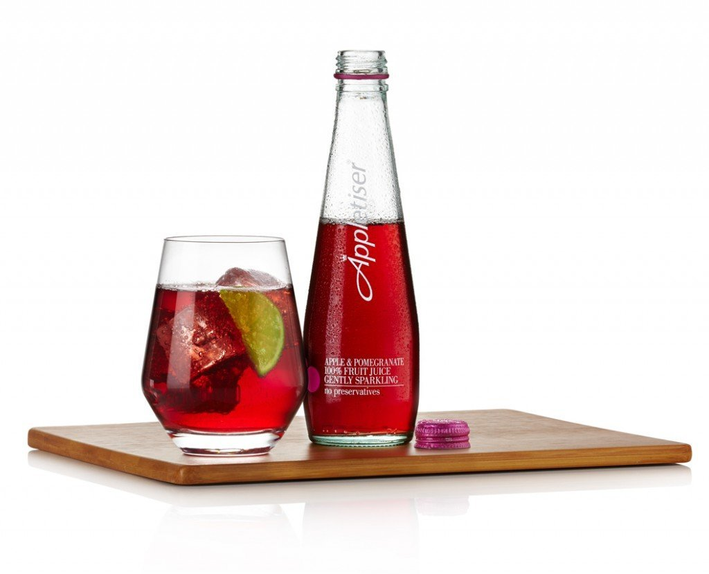Apple and Pomegranate Appletiser, mocktail recipes, Virgin cocktail recipes, daisies and pie