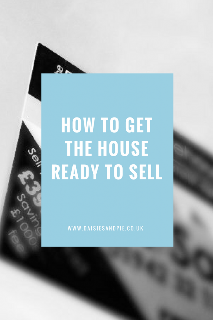 How to get the house ready to sell, house sale check list, homemaking tips