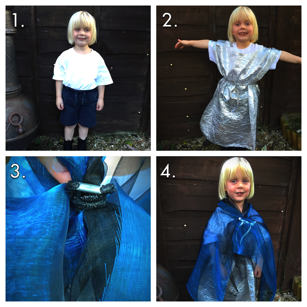 How to make a no-sew wizard outfit