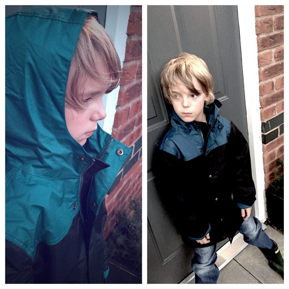 Joules fleece lined school coat, joules boys school coat, school coats for boys, boys winter coats, daisies and pie
