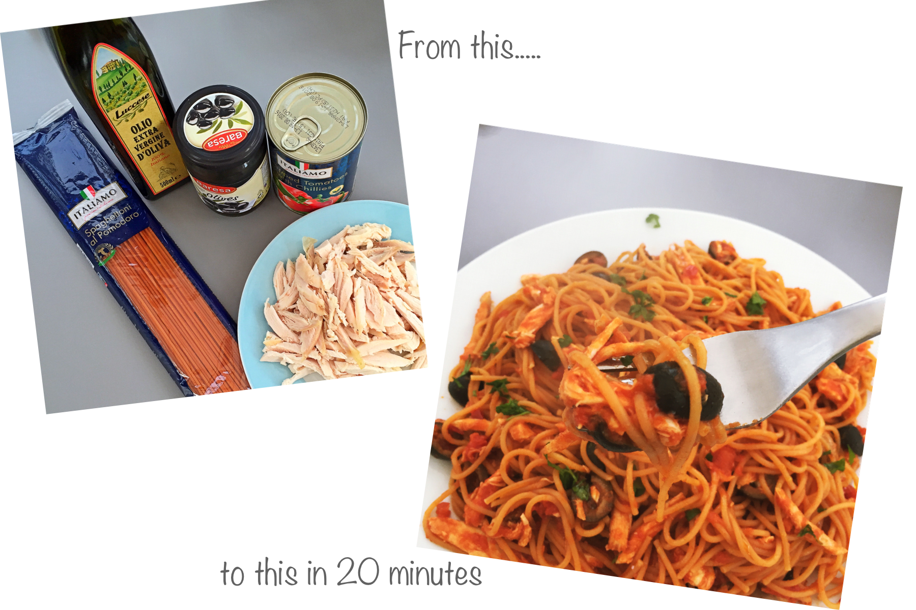 Really Quick Pasta Sauce With Chicken And Olives Daisies