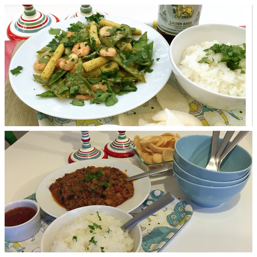 Sainsbuy's thai food, make-away with Sainsbury's, thai fake-away, quick thai curry recipes, easy thai recipes, daisies and pie