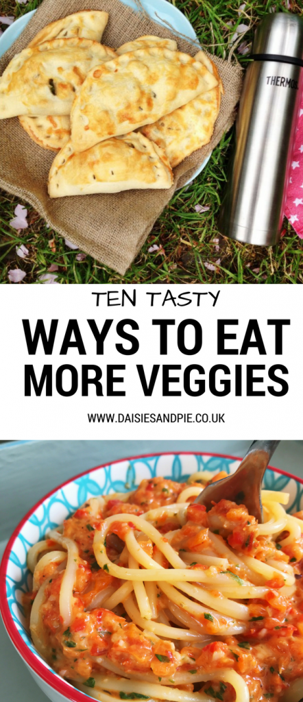 Ten tasty ways to eat more vegetables, healthy veggie packed recipes for families