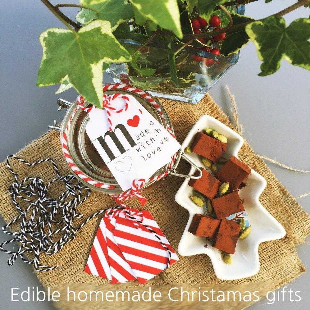Homemade edible Christmas gifts   Daisies & Pie