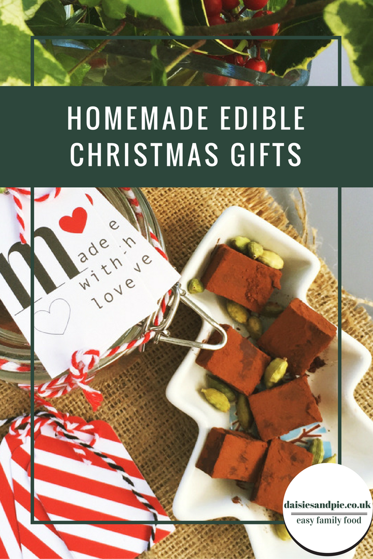 Homemade edible Christmas gifts | Daisies & Pie