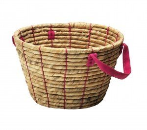 IKEA RIFFLA handwoven basket, how to create a clutter basket, homekeeping from daisies and pie