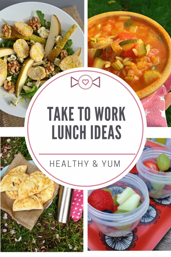 A week of take to work lunch ideas for adults, pack up your own lunch for work with our delicious selection of mains snacks and bakes