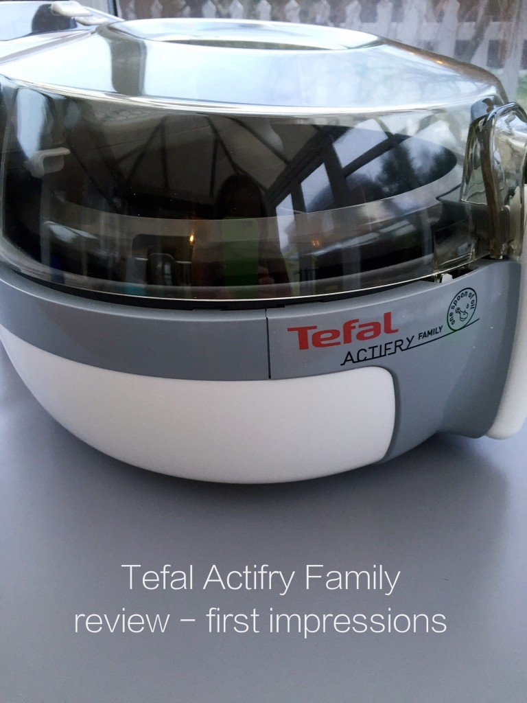 Tefal Actifry Family Review, first impressions of the teal actifry family, easy family food from daisies and pie