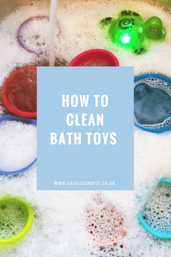 How to clean bath toys daisies pie How to clean bathtub