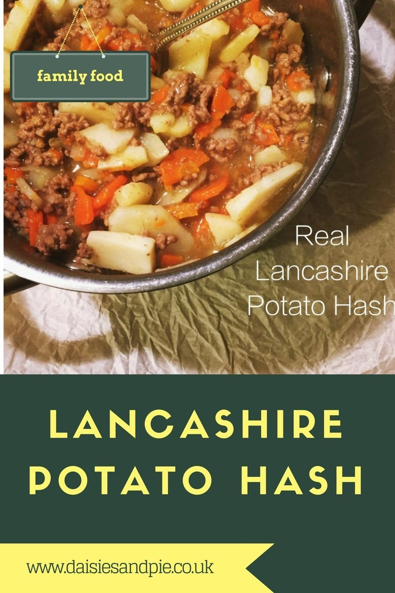 lancashire potato hash, traditional lancashire potato hash, tatty hash ...