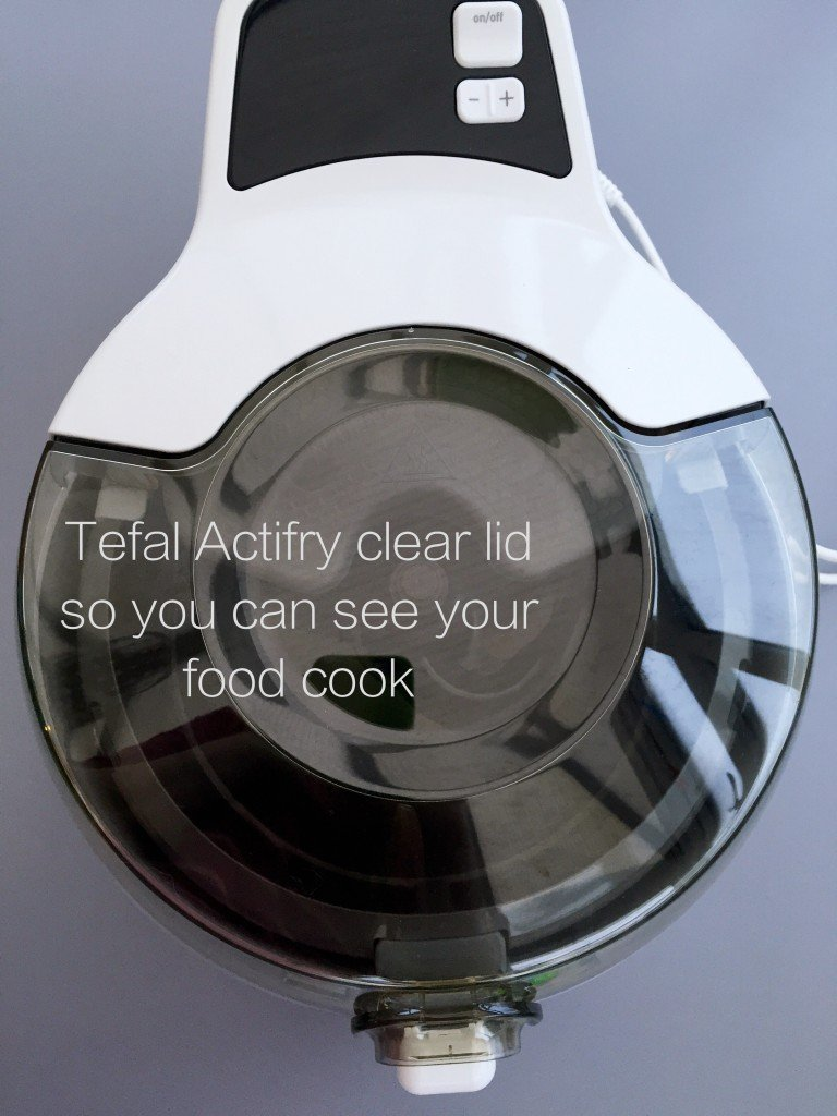 Tefal actifry family clear lid, tefal actifry review, easy family food from daisies and pie