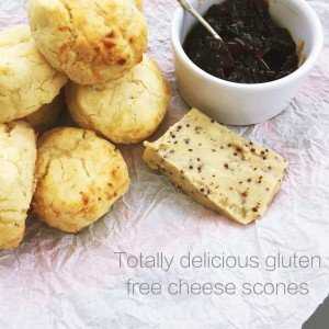 gluten free cheese scone recipe, gluten free scone recipe, gluten free baking, easy family food from daisies and pie