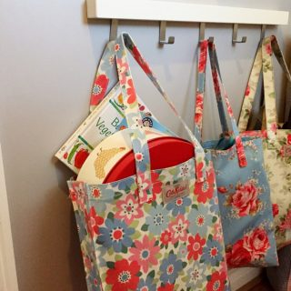 Home organisation ideas - charity bags
