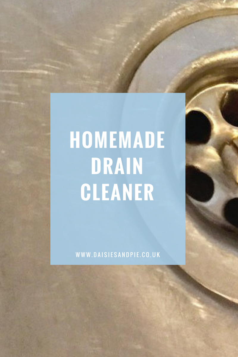 Homemade Natural Drain Cleaner Daisies Pie