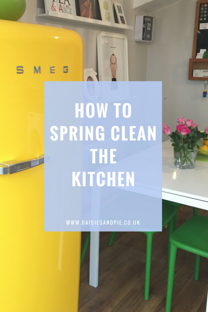How to spring clean the kitchen, cleaning tips