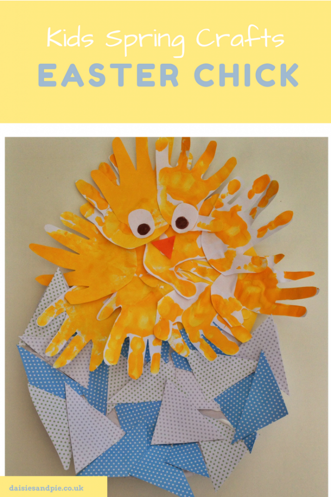 Make a super cute Easter chick | spring crafts for kids