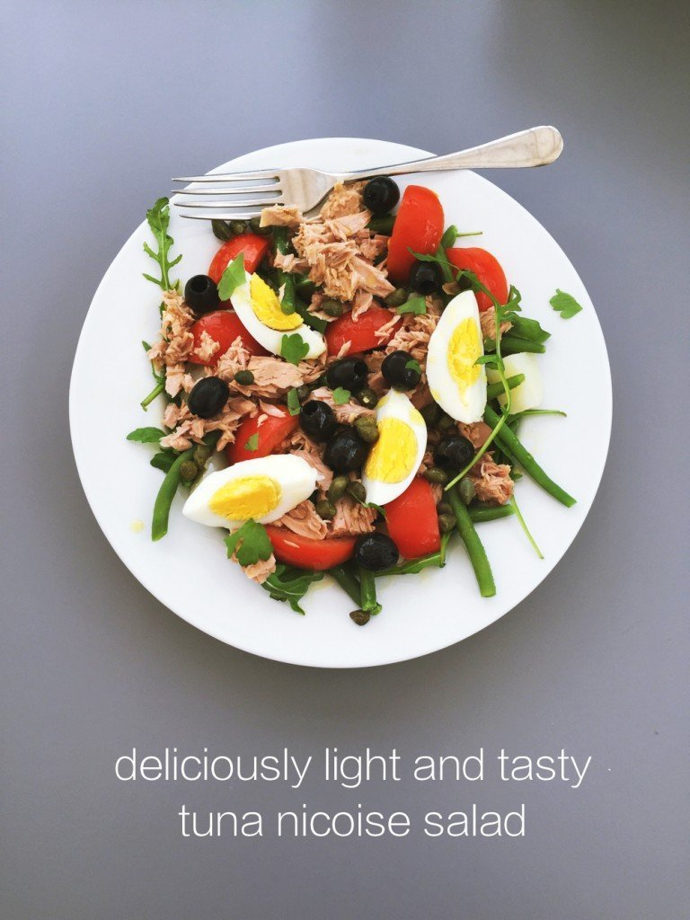 tuna nicoise salad recipe, things to make with tinned tuna, quick and easy family meal, easy family food from daisies and pie