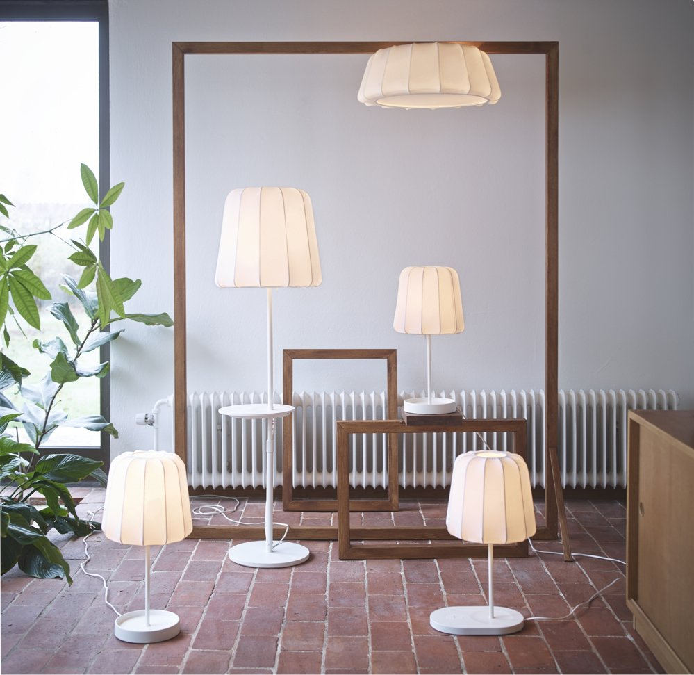IKEA wireless charging furniture lamps, IKEA wireless charging floor lamps, IKEA smart home, homestyle from daisies and pie