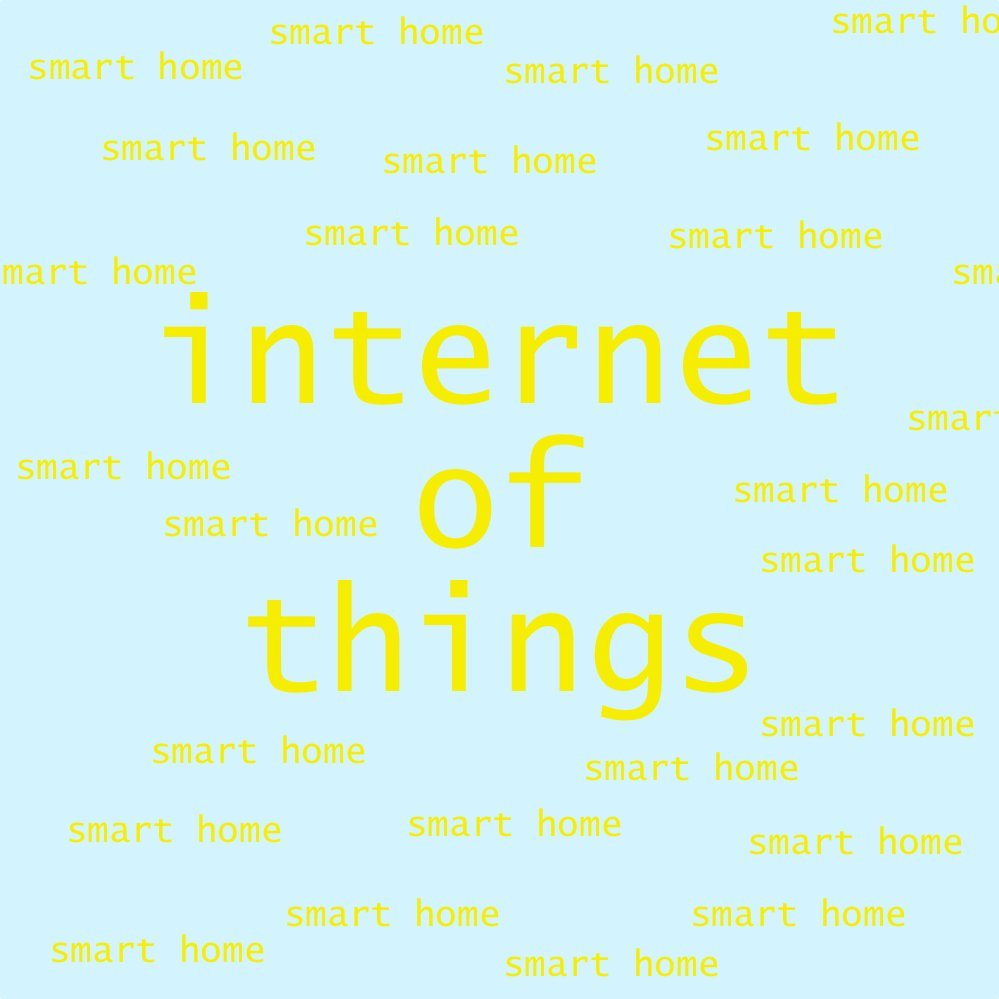 beginner guide to internet of things, IoT at home, smart homes, future homes, homestyle with daisies and pie