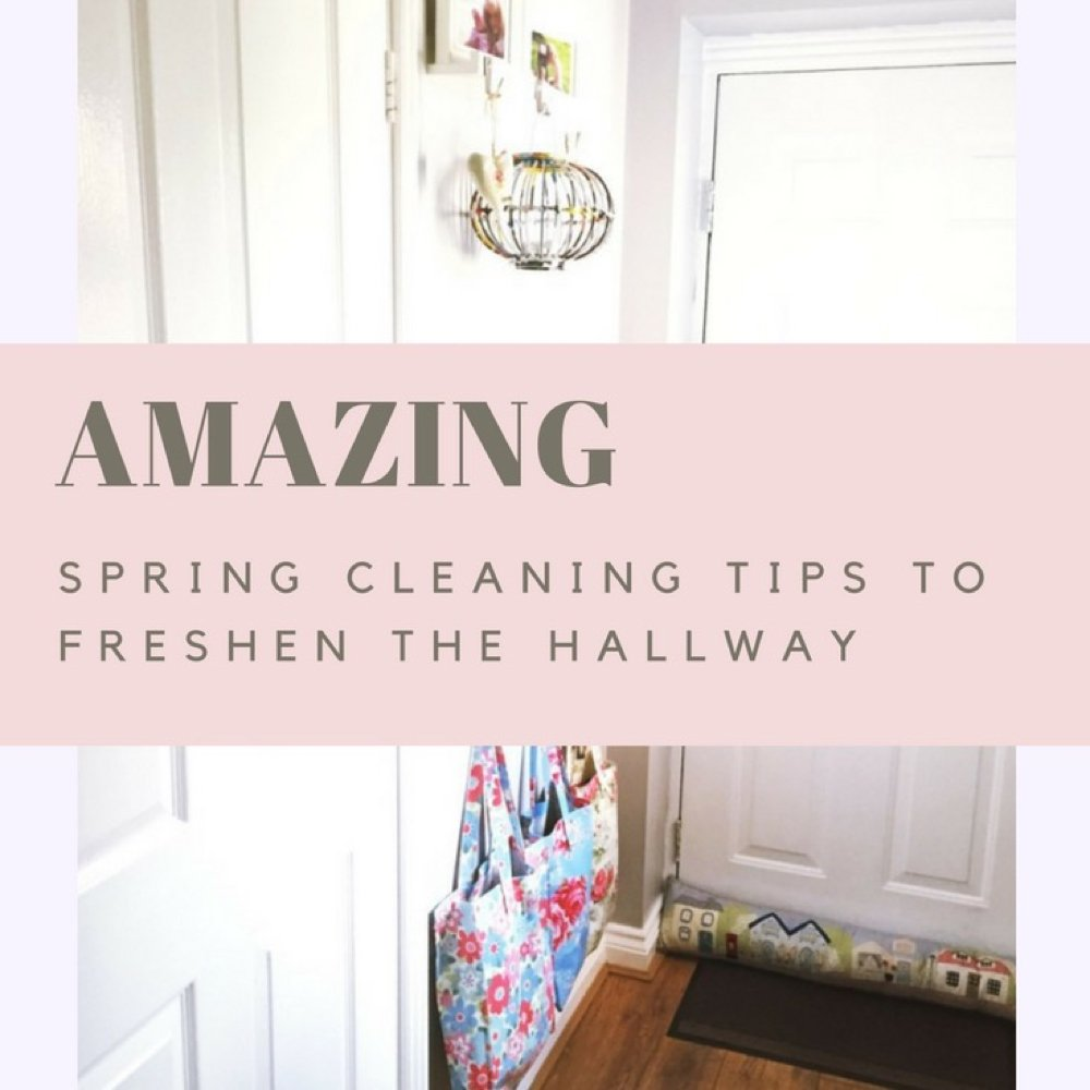 How to spring clean the hallway