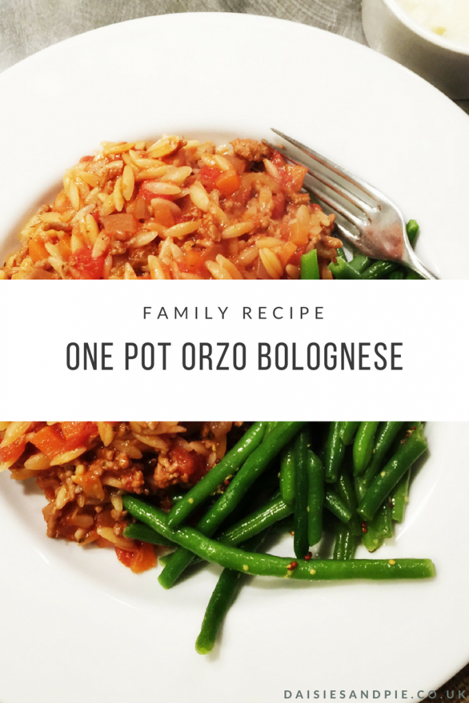 Cook up a delicious family dinner with our one pot pasta  bolognese recipe