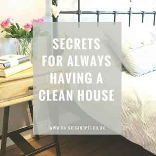 Secrets for always having a clean house, homemaking tips that'll change your house for the better!