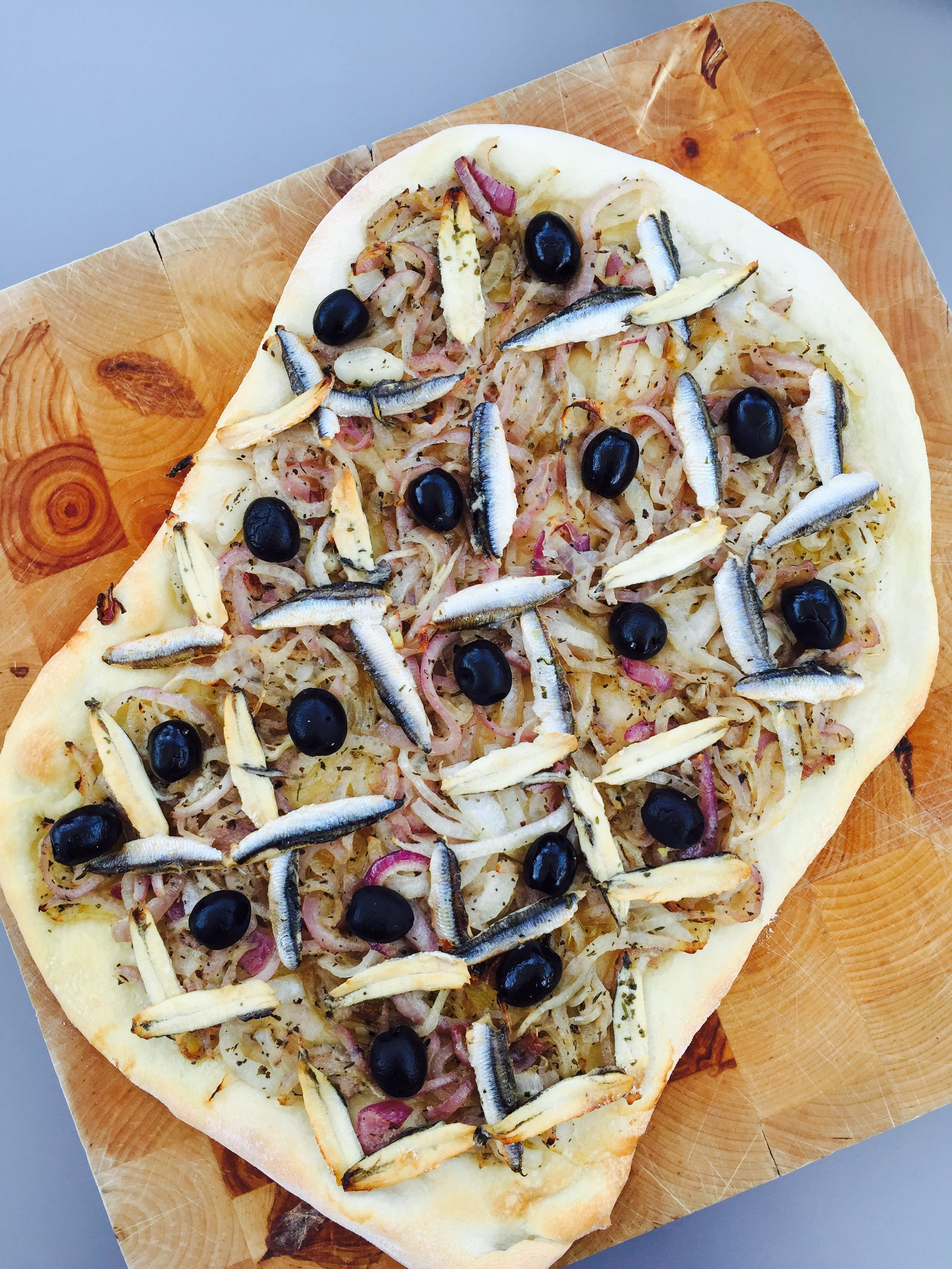 Totally delicious pissaladiere