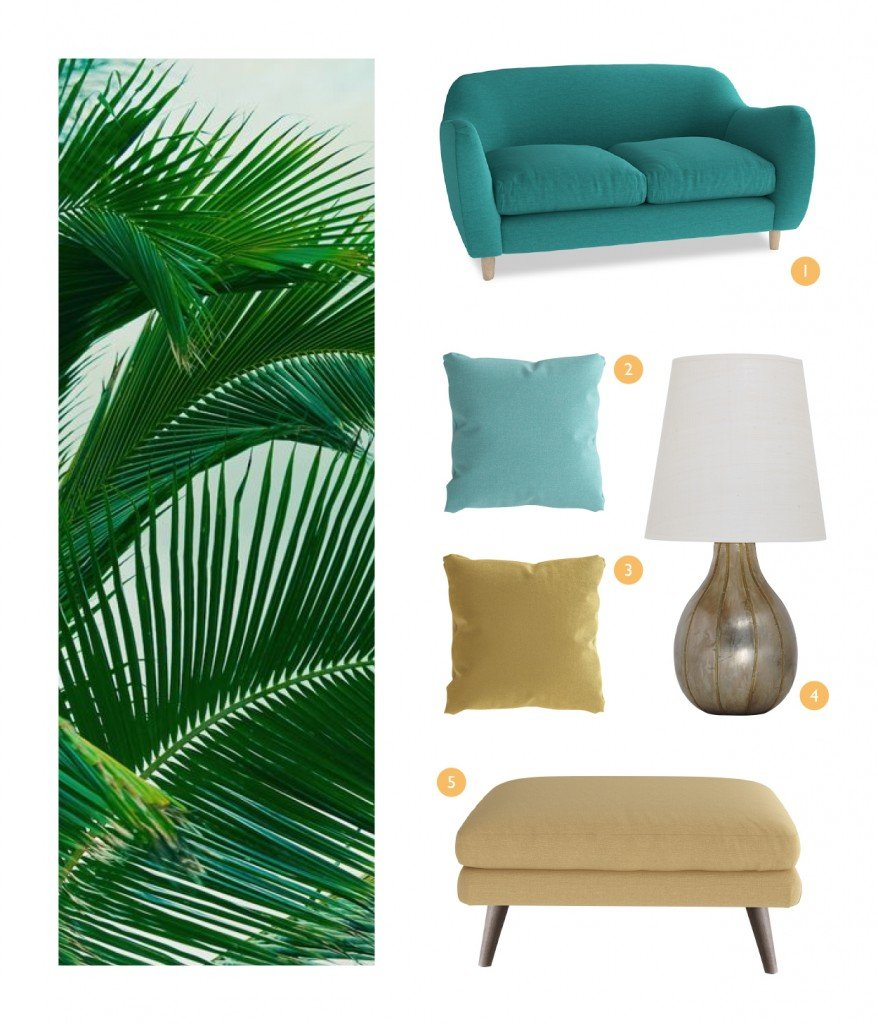 loaf, tropical trend, botanical brights, tropical moodboard, botanical moodboard, home style from daisies and pie
