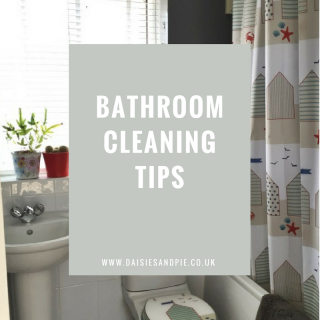 Bathroom cleaning tips for family homes, homemaking tips, housework routines