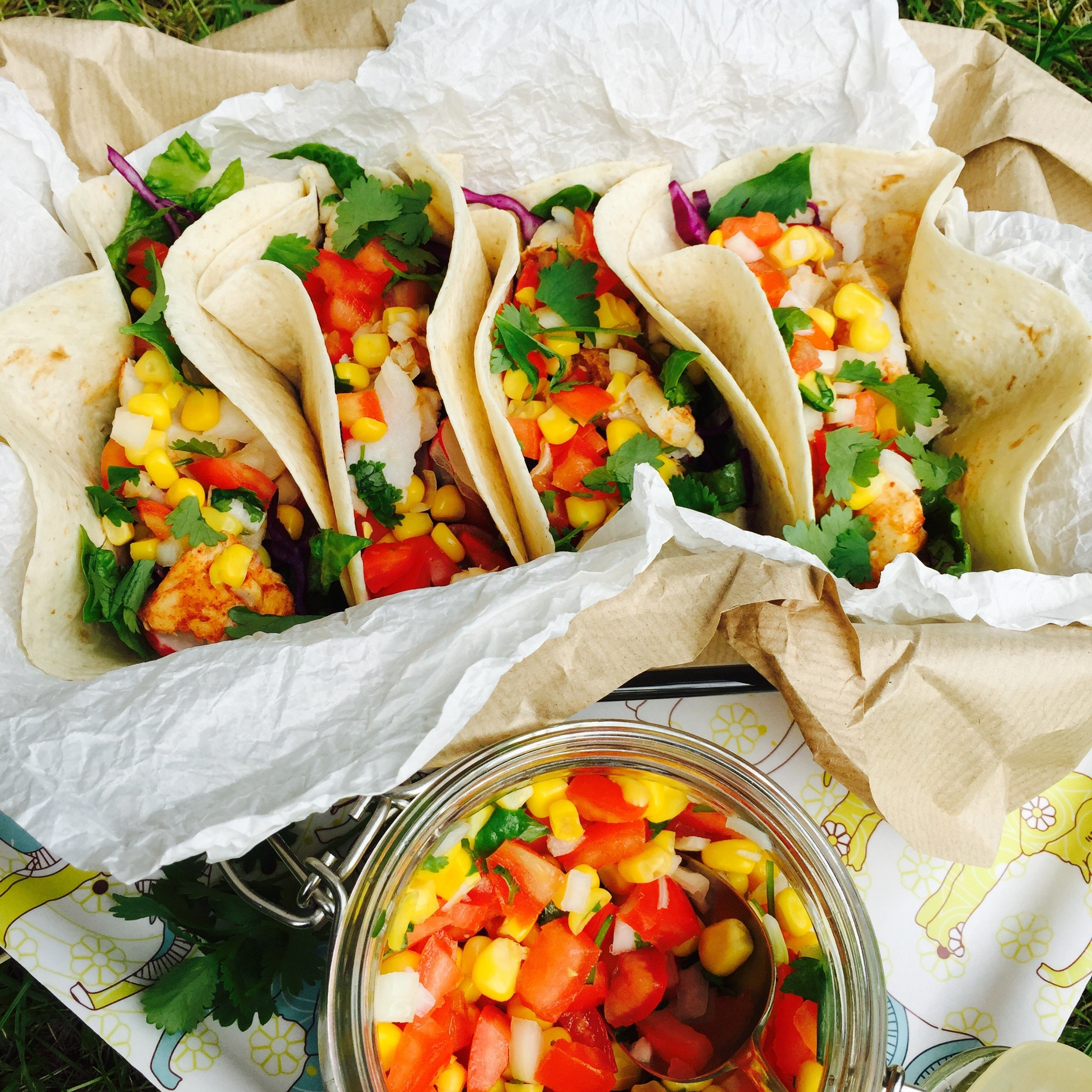 chipotle fish tacos, mexican fish recipe, hake recipe, easy fish recipe for kids, easy family food from daisies and pie