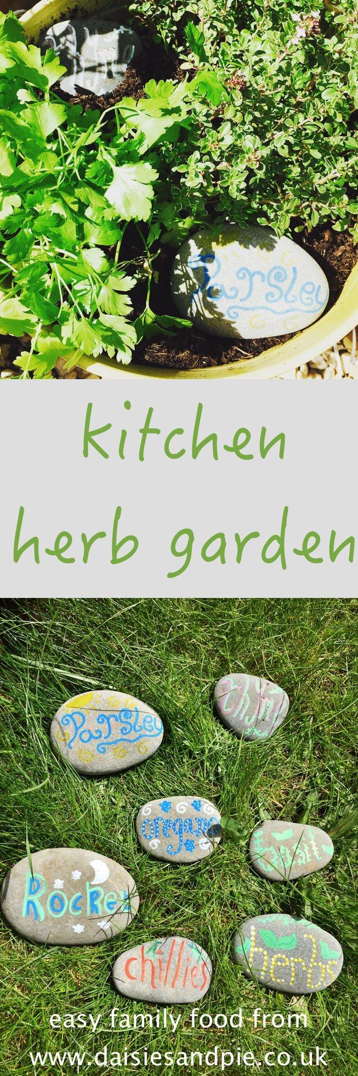 Make A Kitchen Herb Garden Daisies Pie