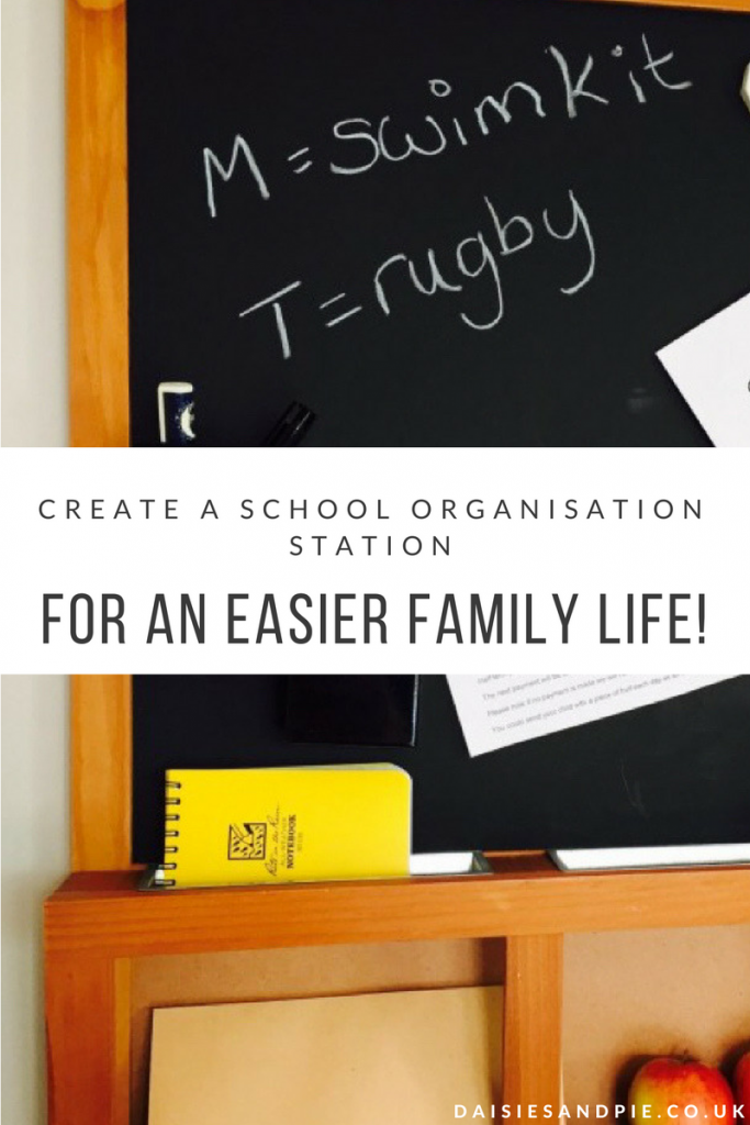 Make family life run so much more smoothly by creating a really simple school organisation station, school hacks that really work!