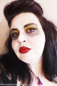 simple halloween make up, easy halloween make up for adults, witch make up, halloween party make up