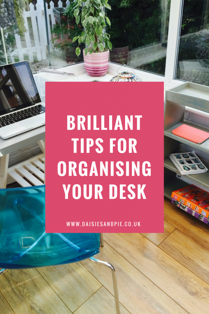 Brilliant tips for organising your desk