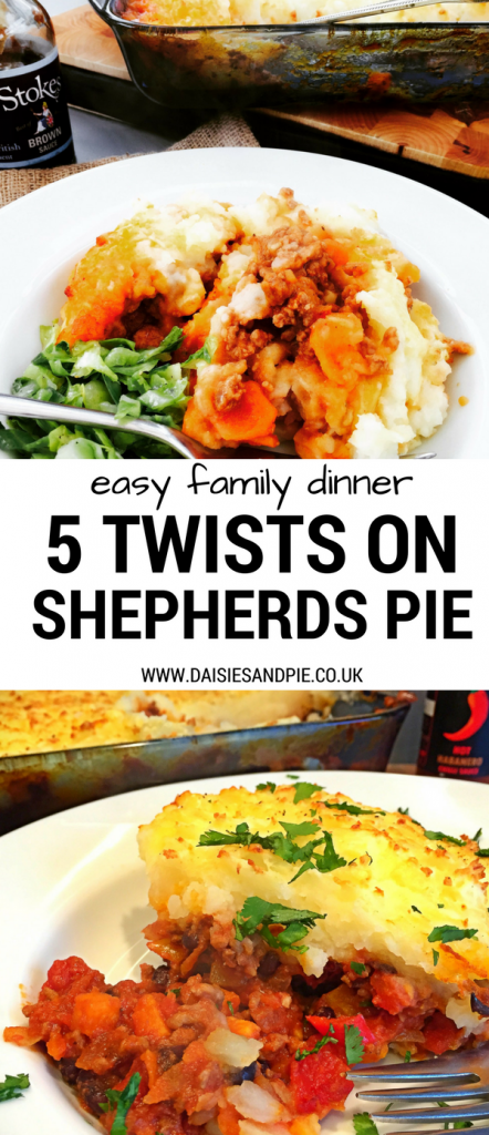 Five twists on shepherd's pie, bored of the same old shepherds pie here's five totally delicious twists to take that pie in a whole different direction, easy family dinner recipes