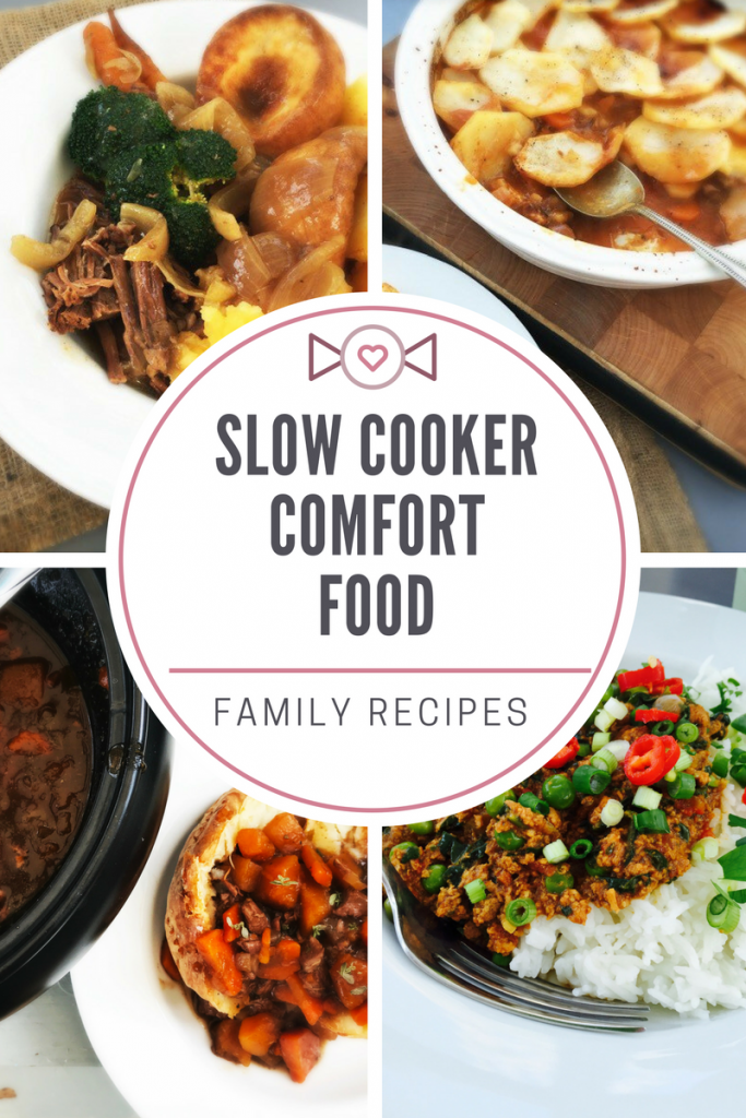 Slow cooker comfort food, slow cooker recipes for cold days, total comfort food recipes that are easy and perfect for feeding a family