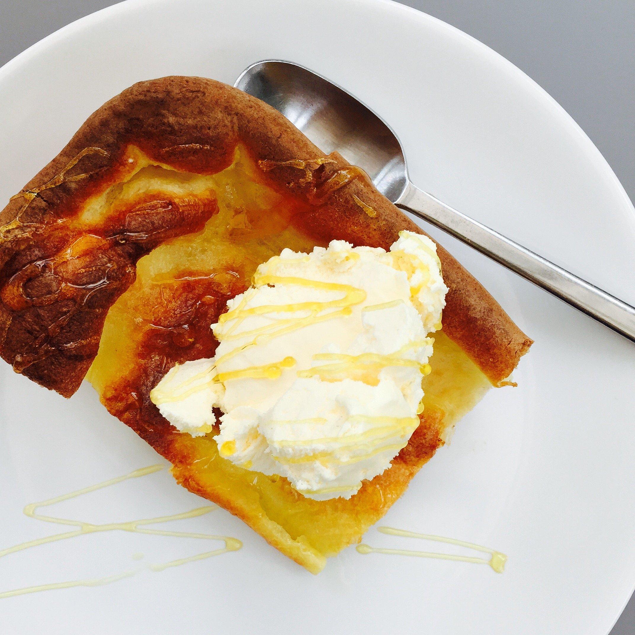 Yorkshire pudding dessert