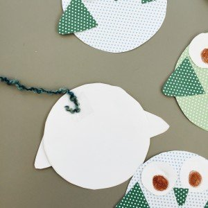 paper owl bunting, how to make owl bunting, paper bunting ideas, kids crafts from daisies and pie