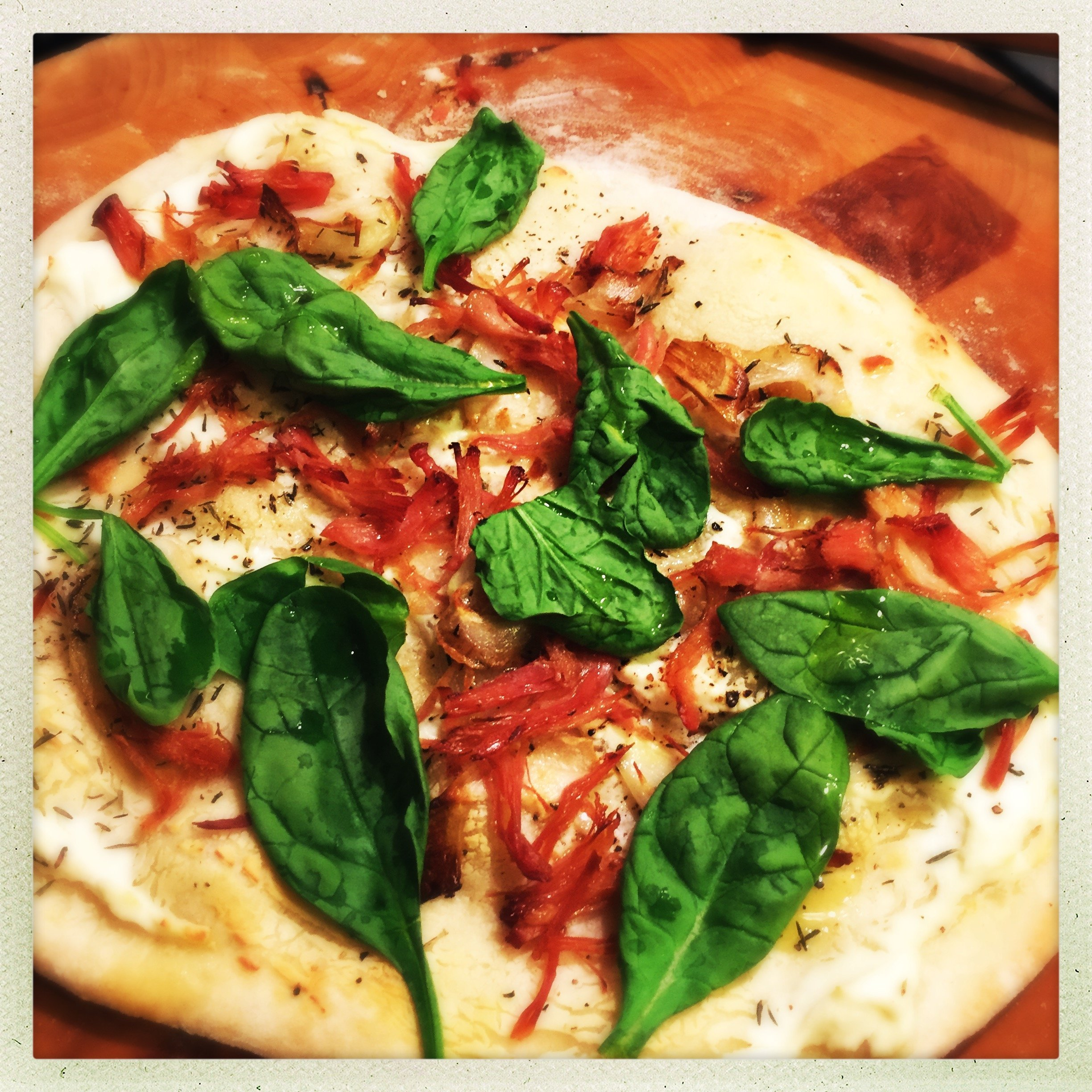 Ricotta Pizza With Fresh And Roasted Tomatoes Recipe ...