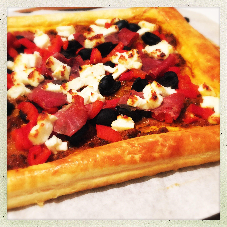 Easy Mediterranean tart