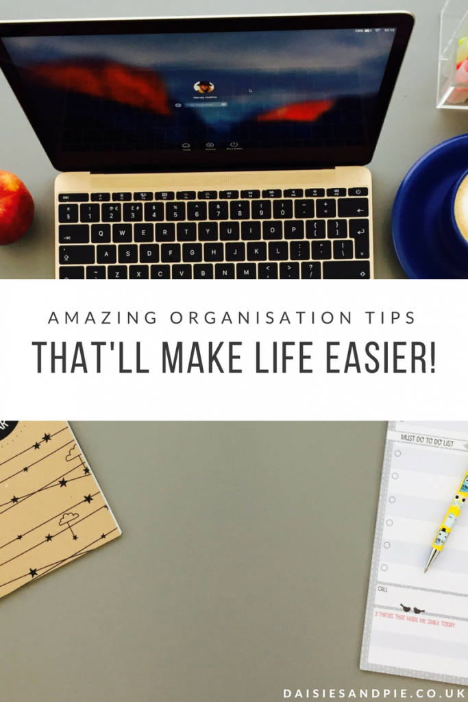 Amazing organisation tips that'll make life just so much easier, get it all done as a working mum!