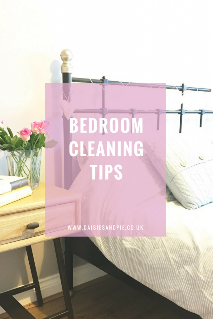 Bedroom homekeeping daily weekly and monthly daisies Cleaning tips for the home uk