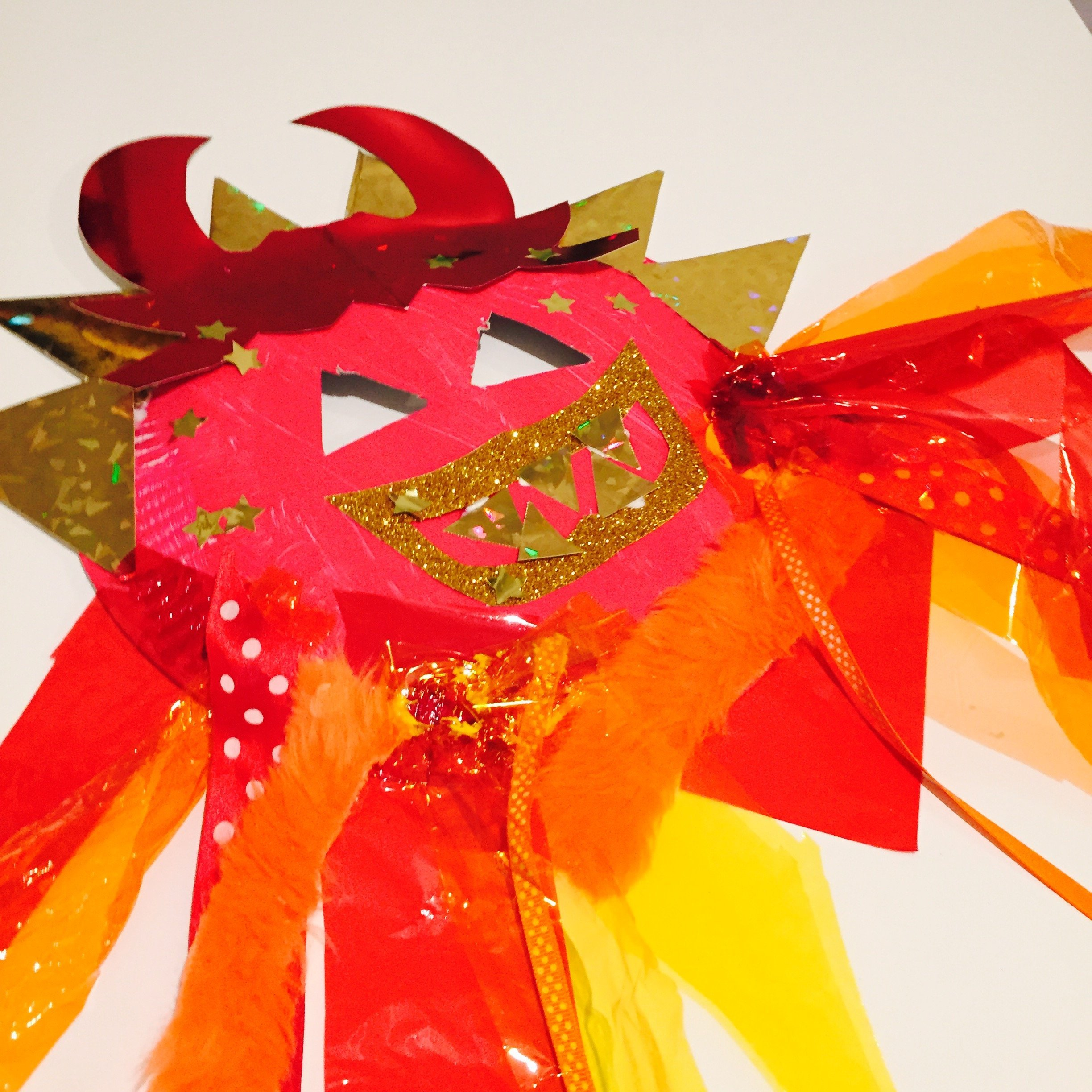 Chinese Dragon Mask Craft For Kids Daisies Pie