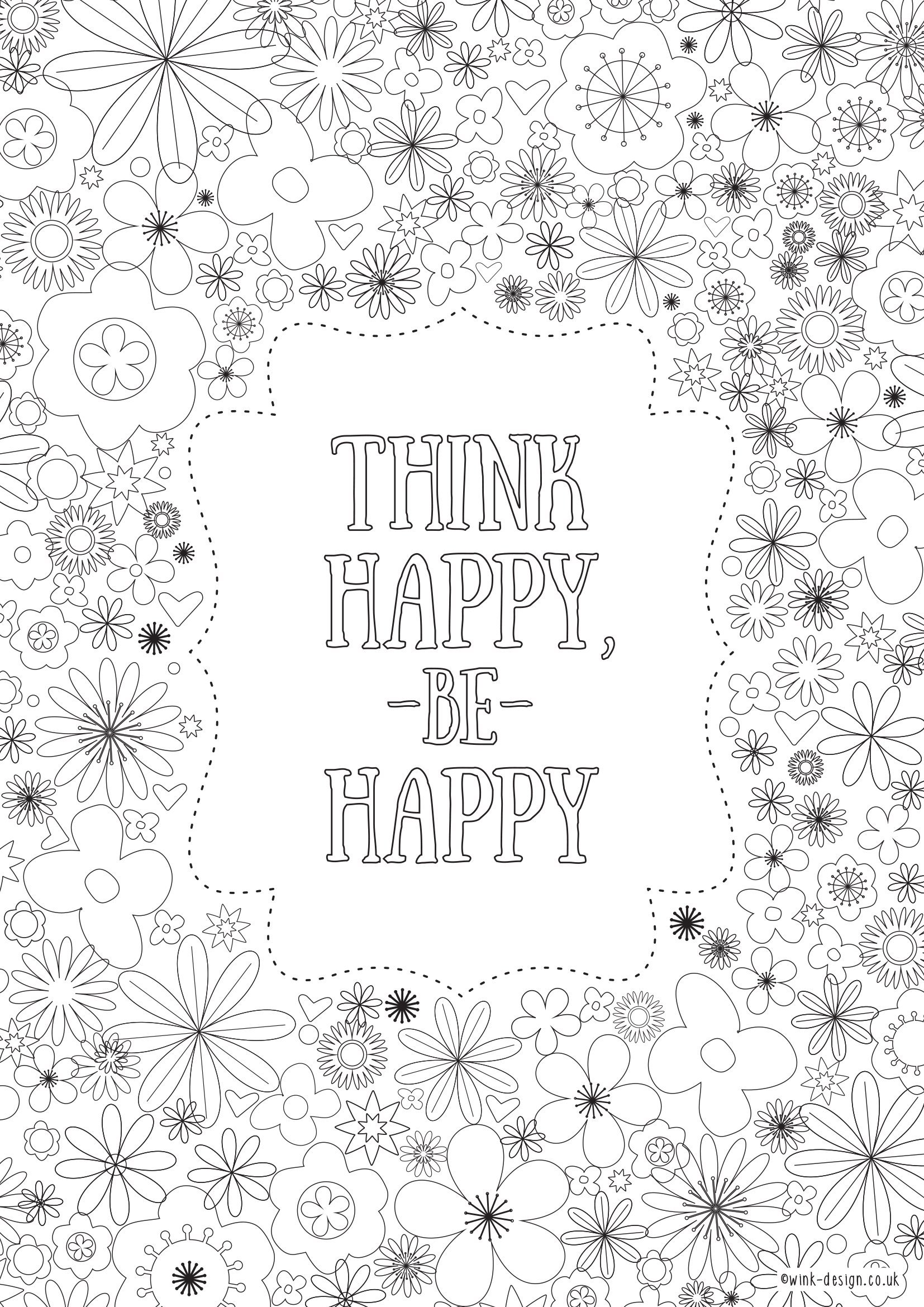 Free Printable Adult Colouring Page Inspirational Quote Pages Sheets For Adults